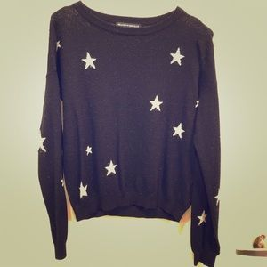 Black Sweater with Stars